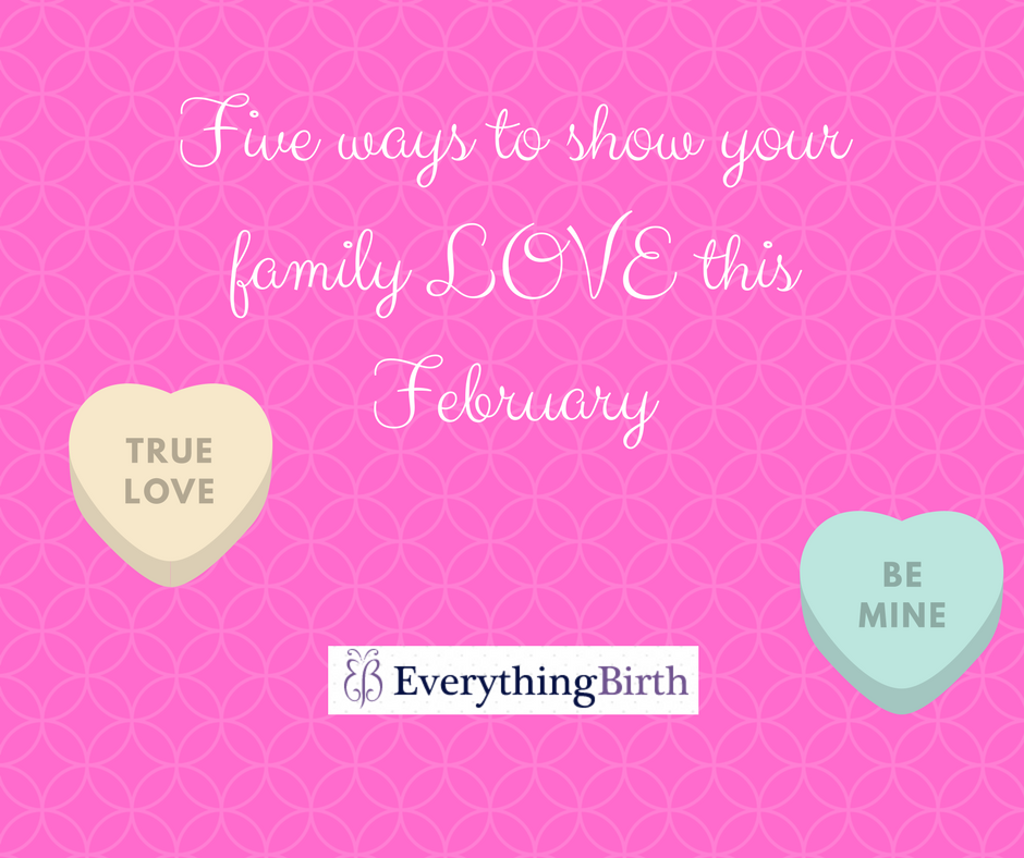 Five ways to show love to your family this February