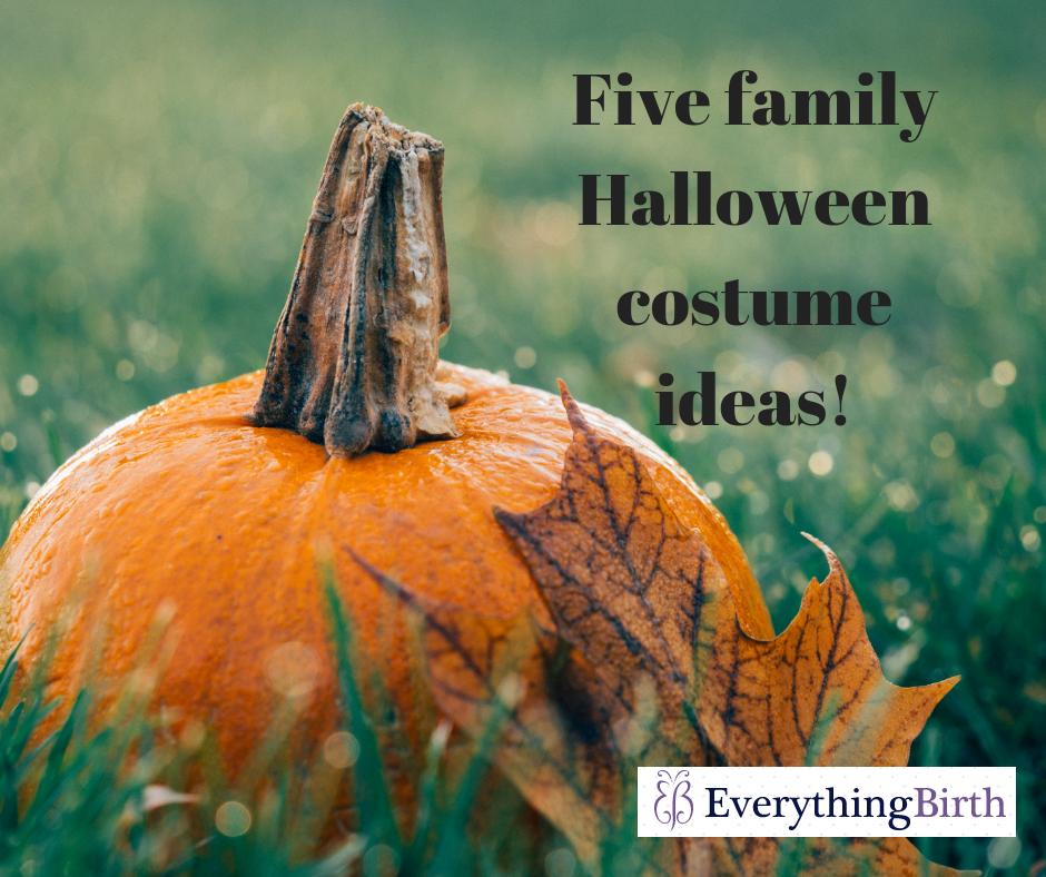 Five family Halloween costume ideas!