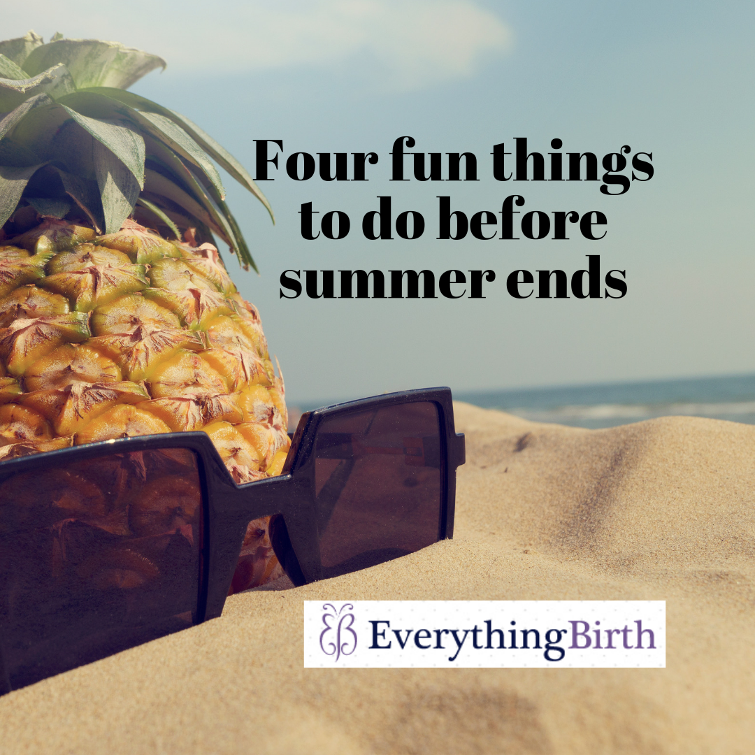 Four fun things to do before summer ends