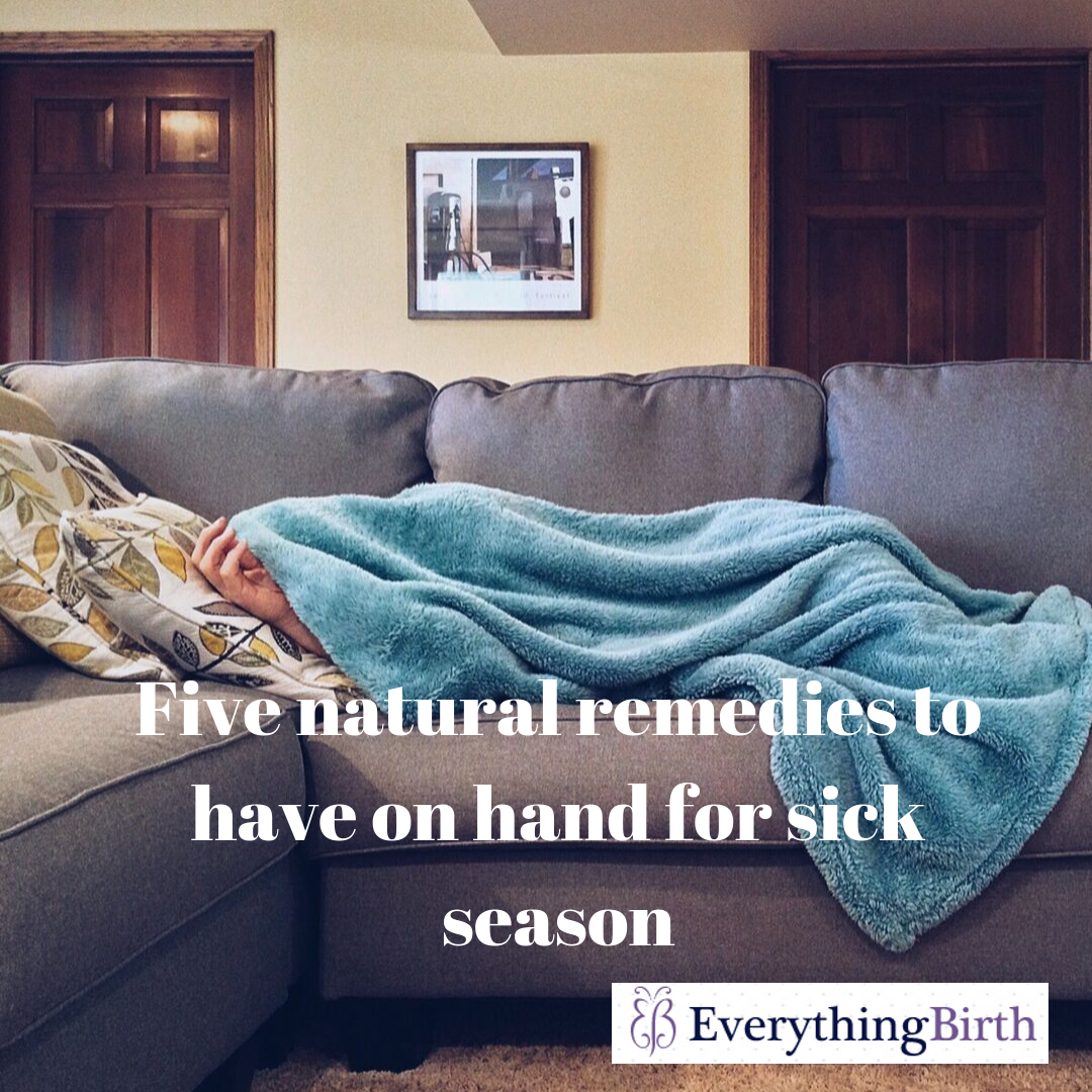Four natural remedies to have on hand for sick season