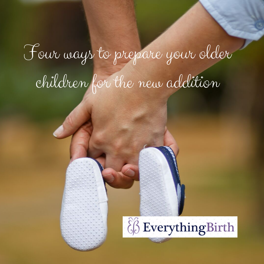 Four ways to prepare your older children for the new addition