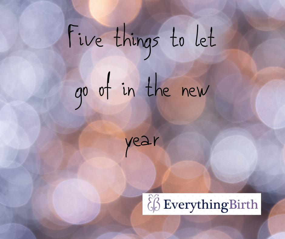 Five things to let go of in 2020