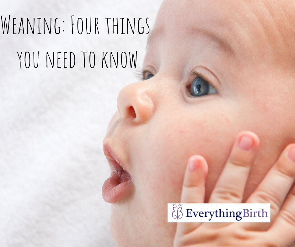 Weaning: Four things you need to know