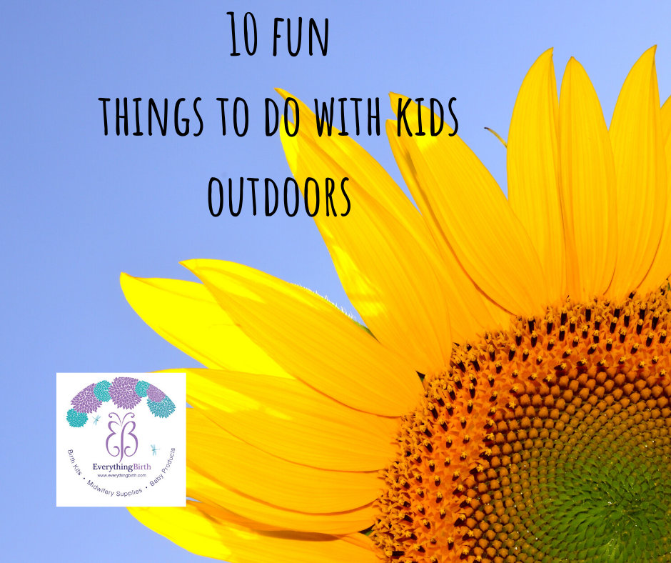 10 fun things to do with kids outdoors