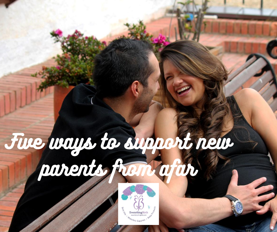 Five ways to support new parents from afar