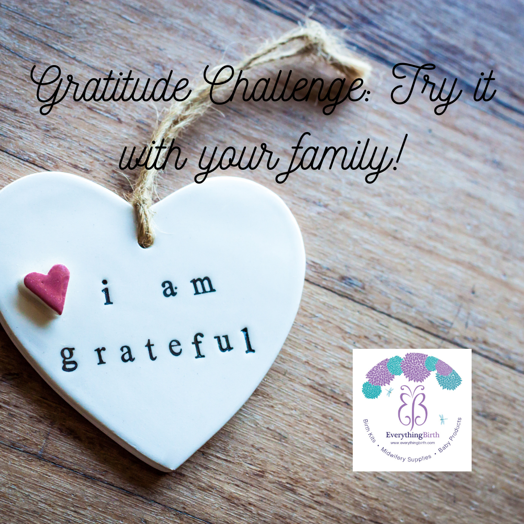 Gratitude Challenge: Try it with your family!