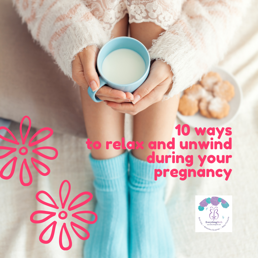 10 ways to relax and unwind during your pregnancy
