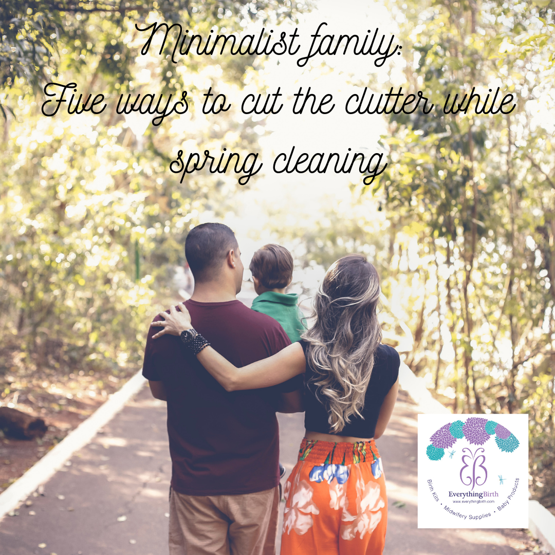 Minimalist family: Five ways to cut the clutter while spring cleaning