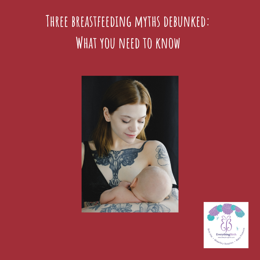 Three breastfeeding myths debunked: What you need to know